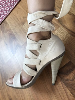 Hugo Boss High Heel Sandal cream