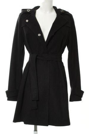 Hugo Boss Manteau à capuche noir style décontracté