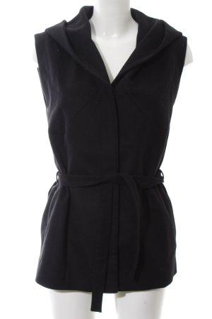 Hugo Boss Hooded Vest black casual look