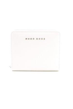 Hugo Boss Kartenetui weiß klassischer Stil