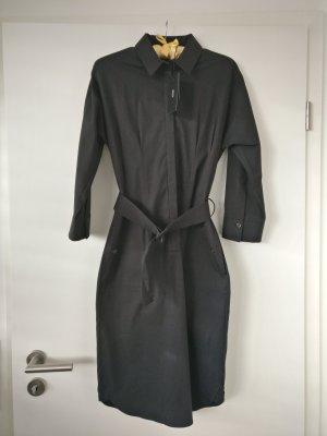 Hugo Boss Vestido tipo blusón negro
