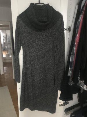 Hugo Boss Vestito di lana antracite-grigio chiaro Lana vergine