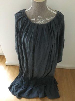 Hugo Boss Kleid in stahlblau