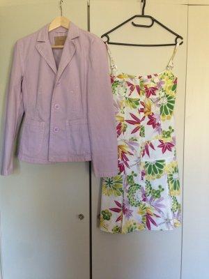 Hugo Boss - Kleid mit Blumenprint und passendem Blazer