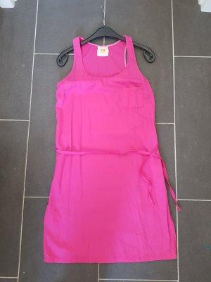 Hugo Boss Vestido línea A rosa-magenta Algodón