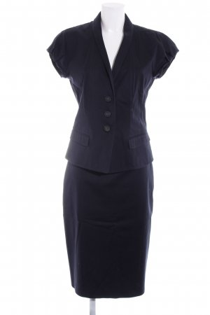 Hugo Boss Kostüm dunkelblau Business-Look