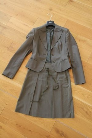 Hugo Boss Ladies' Suit green grey cotton