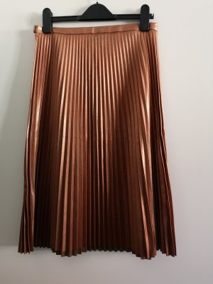 Hugo Boss Pleated Skirt multicolored imitation leather