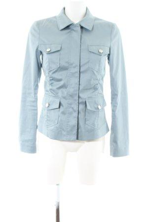 Hugo Boss Kurz-Blazer blau Casual-Look
