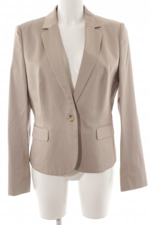 Hugo Boss Kurz-Blazer beige Business-Look