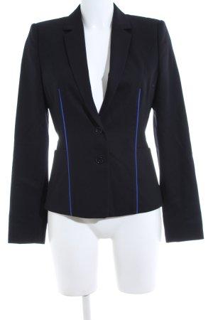Hugo Boss Kurz-Blazer schwarz-blau Business-Look