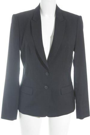 Hugo Boss Kurz-Blazer dunkelblau Business-Look