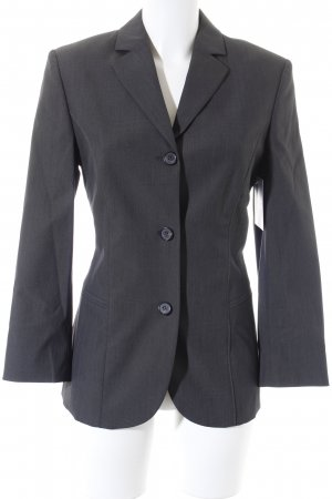 Hugo Boss Kurz-Blazer dunkelgrau Business-Look