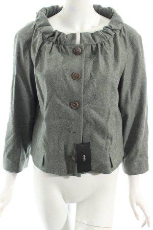 Hugo Boss Kurz-Blazer graugrün Eleganz-Look