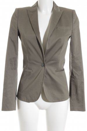 Hugo Boss Kurz-Blazer grüngrau Business-Look