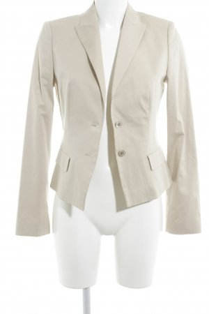Hugo Boss Kurz-Blazer hellbeige Business-Look