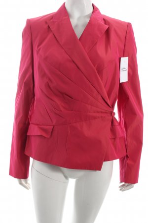 Hugo Boss Kurz-Blazer pink Metallic-Optik