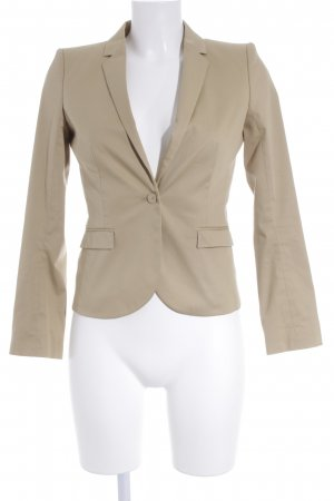 Hugo Boss Kurz-Blazer sandbraun-goldfarben Business-Look