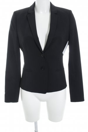 Hugo Boss Kurz-Blazer schwarz Business-Look