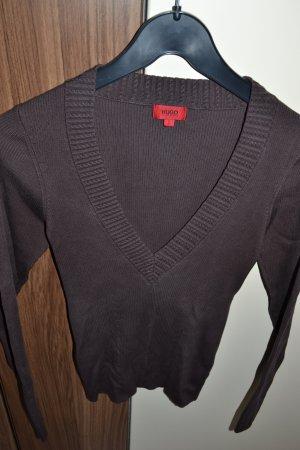 Hugo Boss, Kurz Pullover, S, braun!