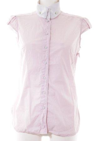 Hugo Boss Kurzarm-Bluse rosé Elegant