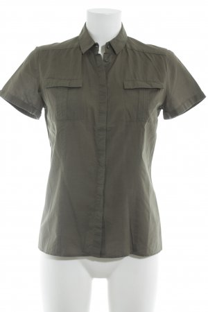 Hugo Boss Short Sleeve Shirt khaki business style