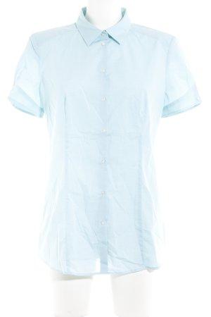 Hugo Boss Short Sleeve Shirt turquoise business style