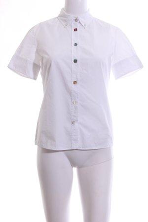 Hugo Boss Camisa de manga corta blanco estilo «business»