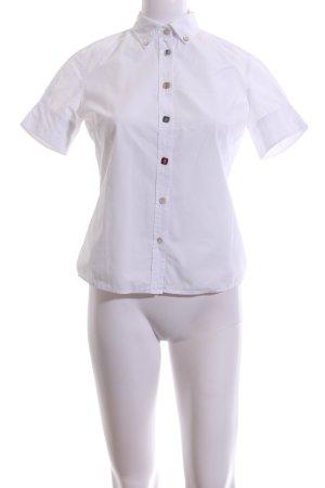 Hugo Boss Camisa de manga corta blanco look casual