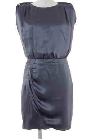 Hugo Boss Kurzarmkleid grauviolett Elegant