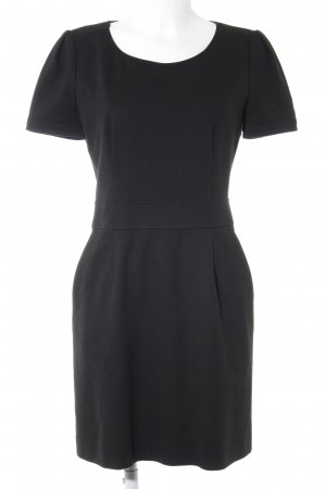 Hugo Boss Kurzarmkleid schwarz Business-Look