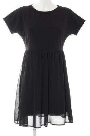 Hugo Boss Kurzarmkleid schwarz Elegant