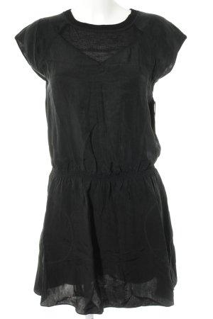 Hugo Boss Kurzarmkleid schwarz schlichter Stil