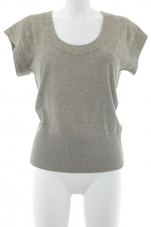 Hugo Boss Short Sleeve Sweater beige-gold-colored casual look