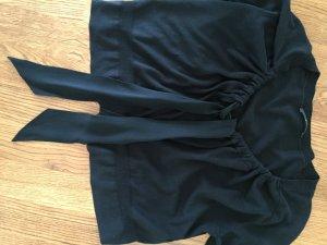 Hugo Boss Cardigan a maniche corte nero Cotone