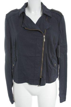 Hugo Boss Kurzjacke dunkelblau schlichter Stil