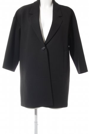 Hugo Boss Kurzmantel schwarz Business-Look