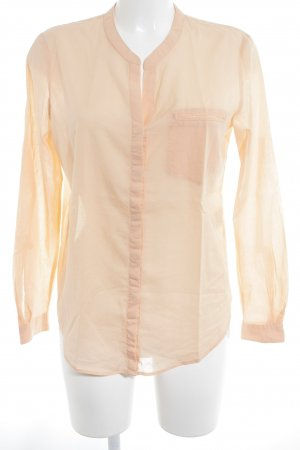 Hugo Boss Langarm-Bluse apricot Business-Look