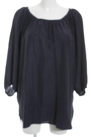 Hugo Boss Langarm-Bluse dunkelblau Elegant