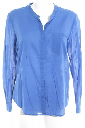 Hugo Boss Langarmhemd blau Business-Look