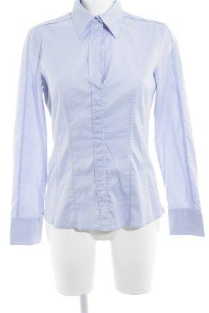 Hugo Boss Langarmhemd himmelblau klassischer Stil