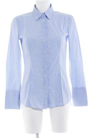 Hugo Boss Langarmhemd himmelblau-weiß Karomuster Casual-Look