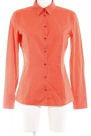 Hugo Boss Langarmhemd neonorange Business-Look