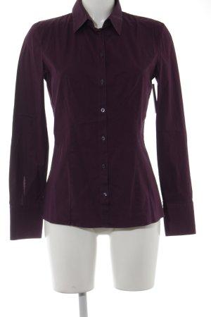 Hugo Boss Shirt met lange mouwen paars zakelijke stijl