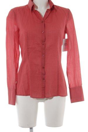 Hugo Boss Shirt met lange mouwen rood zakelijke stijl
