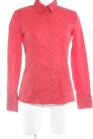 Hugo Boss Long Sleeve Shirt red elegant