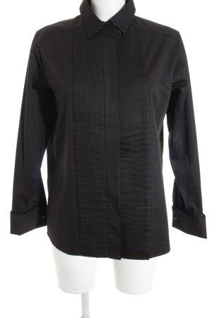 Hugo Boss Langarmhemd schwarz klassischer Stil