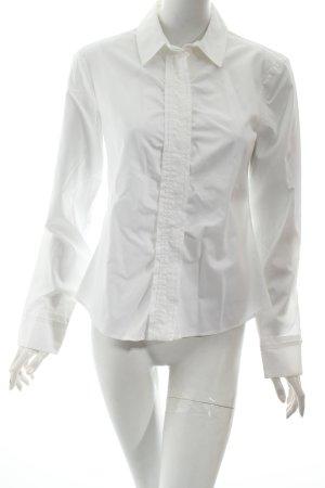 Hugo Boss Langarmhemd weiß klassischer Stil