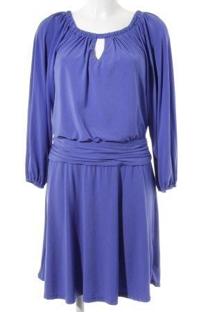 Hugo Boss Langarmkleid blau Elegant