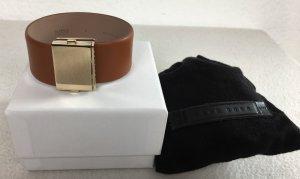 Hugo Boss, Leather Bracelet Romi, M, braun, Leder/Messing, neu, € 195,-